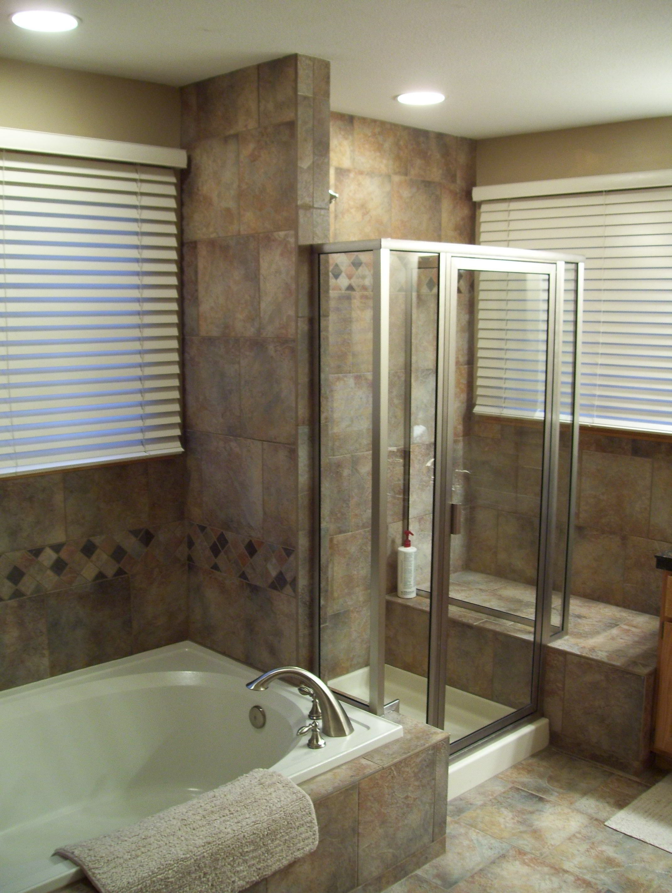 Remodeling kitchen bath basement deck littleton co for Bathroom remodel photos